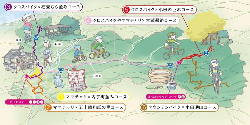 サイクリングMAP