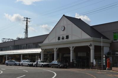 JR内子駅へは特急列車が便利