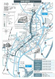 韓国語まち歩きマップ