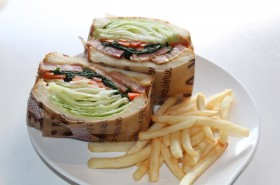 FFC sandwich & coffee