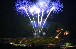 寺村山の神火祭りは予定通り開催いたします