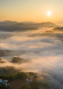 雲海展望台での朝食プラン