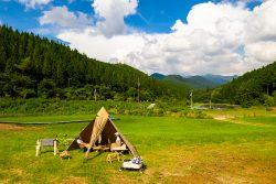 小田深山キャンプ場リニューアルについて